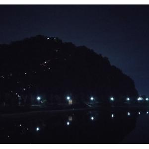 죽도봉의 낮과 밤